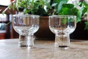 81柳宗理デザインの清酒グラス
