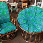 81籐の椅子