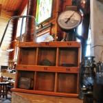 81イーゼル木製のディスプレイ棚秤風ハンキング雑貨