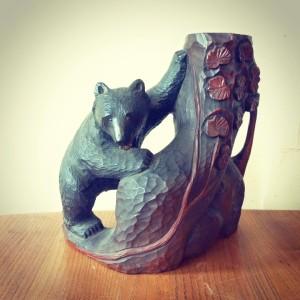 札幌クマの木彫り買取り