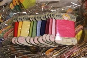 81カラフル絹糸