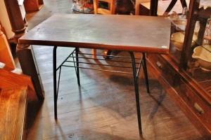 81鉄脚テーブルサイドテーブル