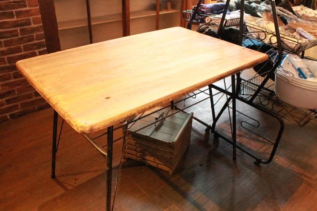 81鉄脚テーブル
