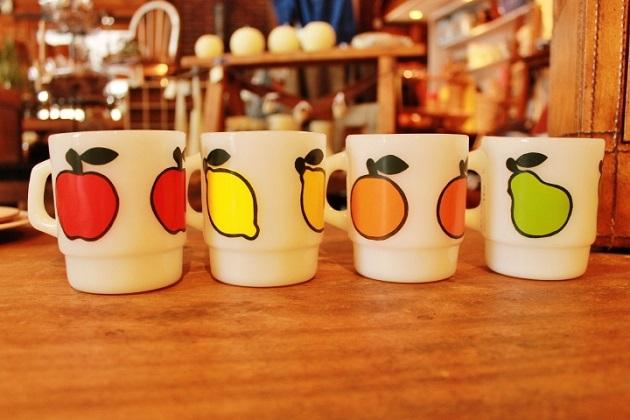 81ファイヤーキング フルーツモチーフ リンゴ レモン オレンジ ペアー