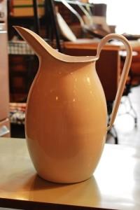 81ホーローピッチャーレトロアンティーク花瓶