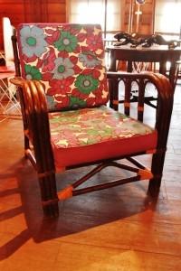 81ラタンチェア籐製パーソナルチェアアジアンテイスト椅子