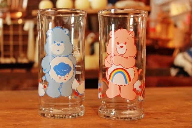 81ケアベア グラス ピザハット ビールグラス
