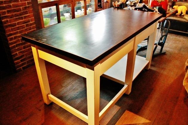 81テーブル 作業台 什器 男前なテーブル