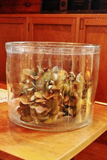 81 大正ガラス 金魚鉢 ガラスの金魚鉢
