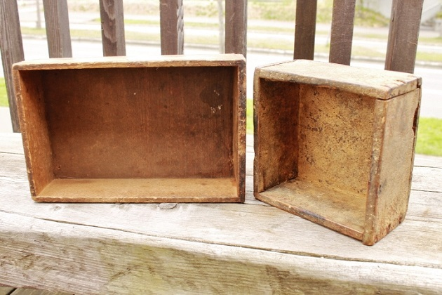 81 木箱  植物 ガーデニング ブリキ ガーデニングフェア