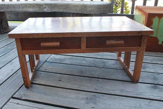 81 文机 昭和レトロ 木製の机