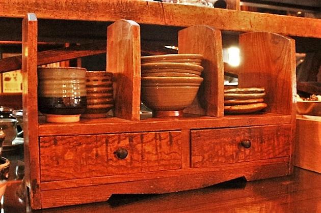 81 本立て 木製 昭和レトロ モダン