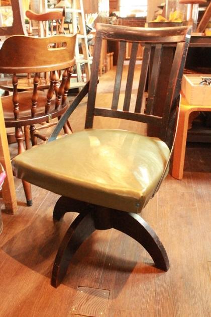 81 ドクターチェア 木製チェア レトロな椅子