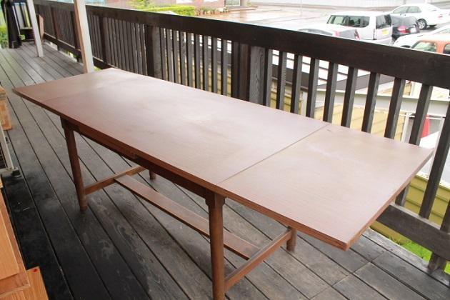 81 テーブル 拡張型 作業台 ガラクタ市