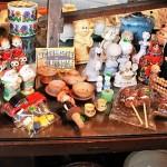 81 陶器 人形 木製
