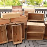 81 りんご箱 うめ箱 みつば箱 リメイク DIY 木箱