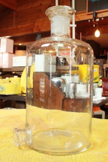 81薬瓶ウランガラス