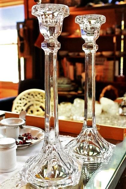 81 キャンドルスタンド キャンドルホルダー ガラス