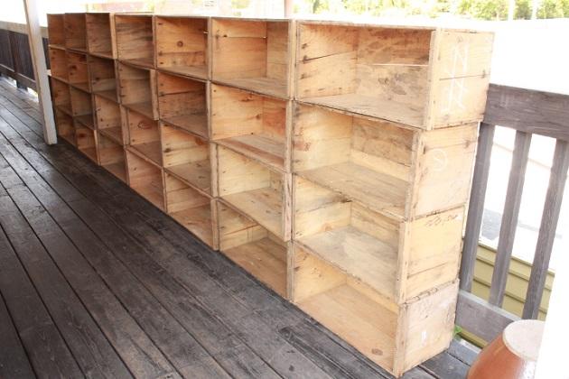 81 りんご箱 木箱 梅箱 うめ 三つ葉