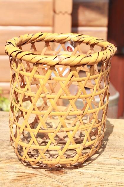 81 昭和レトロ 竹のかご 籠