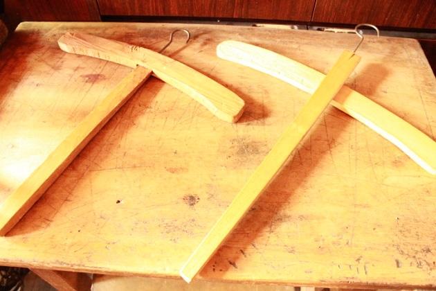 木製十字ハンガー81