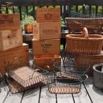 かご 木箱