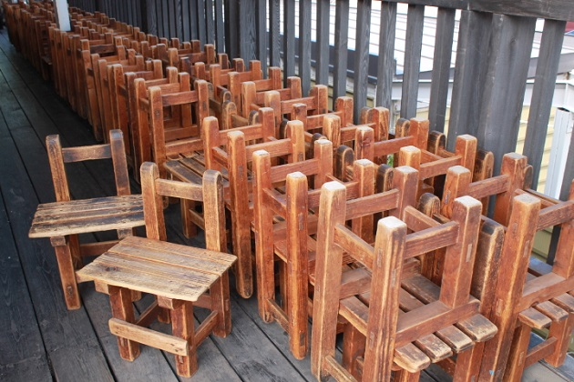 81椅子祭り