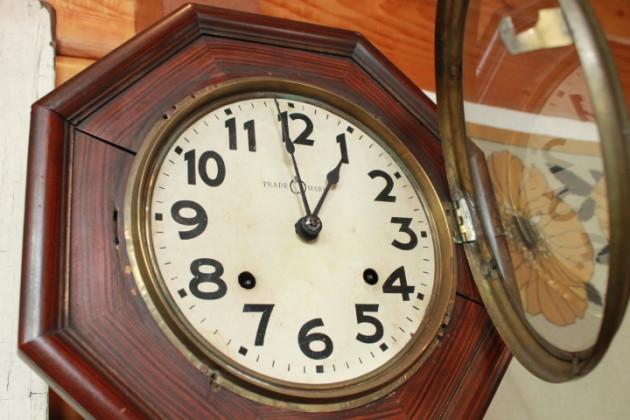 セイコウ 掛時計 八角