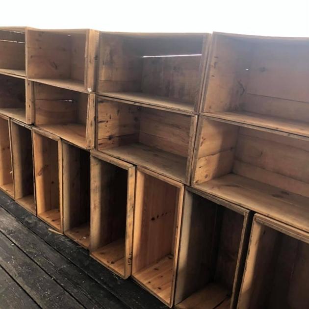 木箱りんご箱