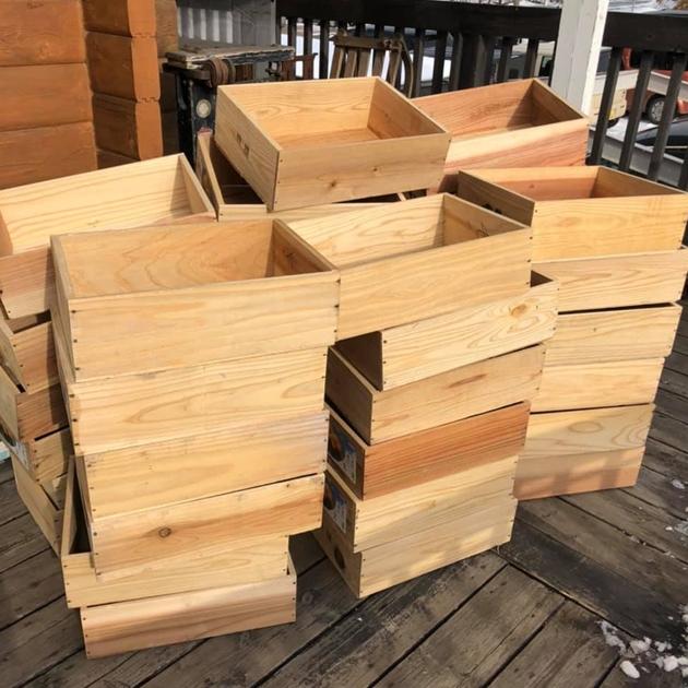 木箱りんご箱しょうが箱
