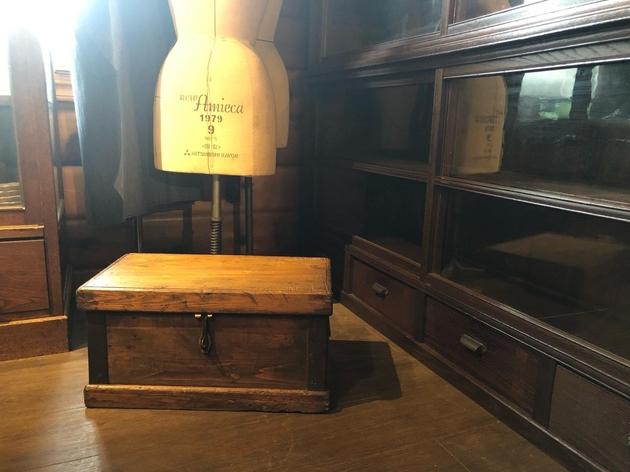 アンティークウッドボックス木箱