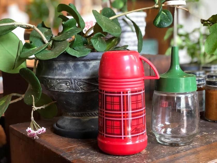 ヴィンテージ雑貨 アラジン水筒 チョッパー