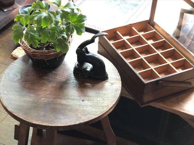 814/21花台・木箱ケース・シールプレス・植物